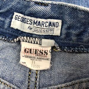 Guess Skirts - VTG Guess Marciano Denim Jean Skirt